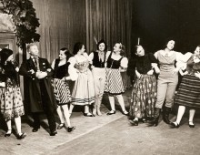 The Kulturbund dancers' last performance