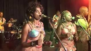 "Mrs Riziki (right) is a musician and ""Jew"" who had her songs banned in Kinshasa and fled to South Africa"