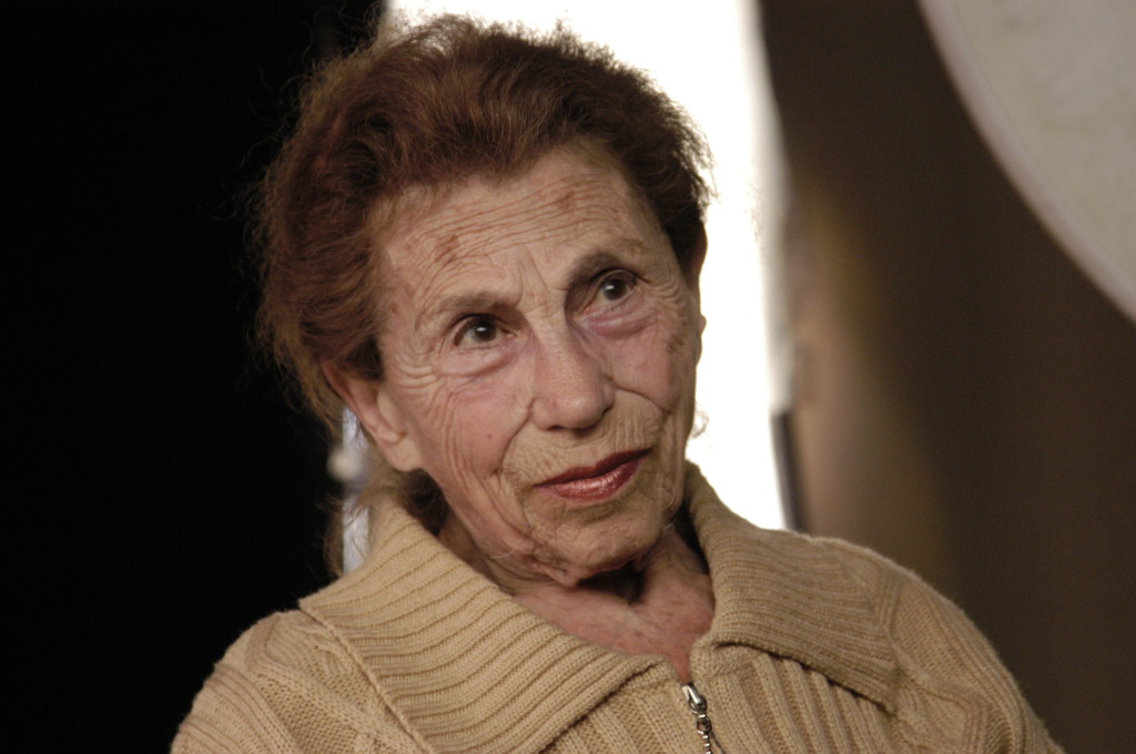 Margalit Wachsman, daughter of the Jewish Kulturbund founding member and director Kurt Singer, interviewed in Tel Aviv, Israel, 2004.