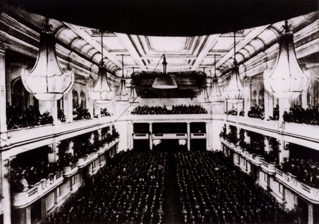 The Jewish Kulturbund performed in this Frankfurt theatre, which was filled to capacity.