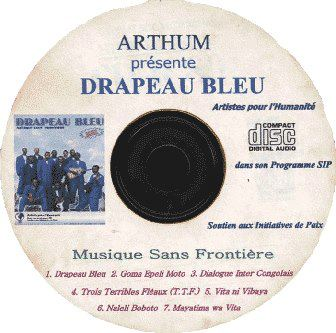ArtHum-CD Album Drapeau Bleu.2003