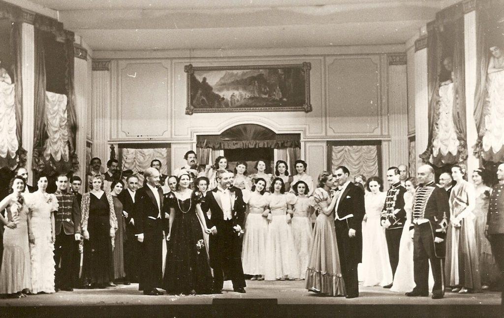 Countess Maritza, 3rd Act, entire cast July '39